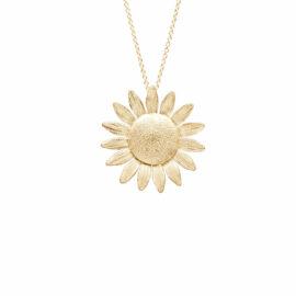 G7562-kultainen-kukka-kaulakoru-riipus-M-Onneli-ja-Anneli-ystävyys-koru-Tammi-jewellery-design-shop-verkkokauppa-koru
